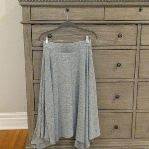 Gap Knit Grey Skirt Size Small